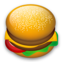 lunch icon (cheeseburger)