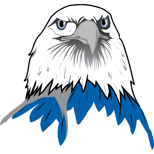 Orchard View Eagle Logo