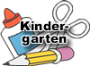 kindergarten school supplies icon